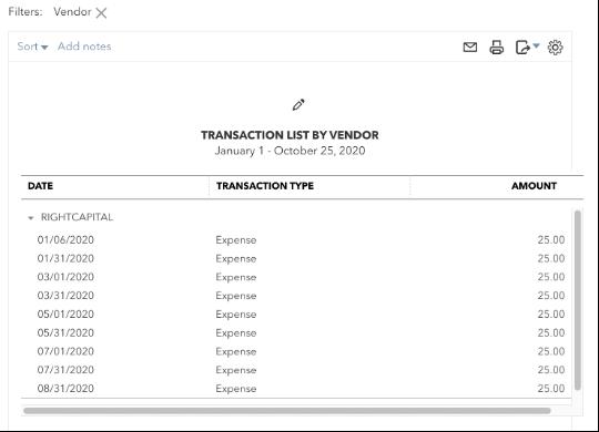 Enter Vendor Names in QBO